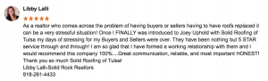 Realtor Review of Solid Roofing