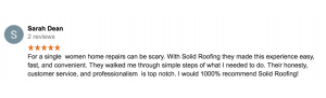 Tulsa Roofing Company Testimonial