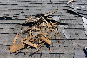 Insurance claim for roof repair
